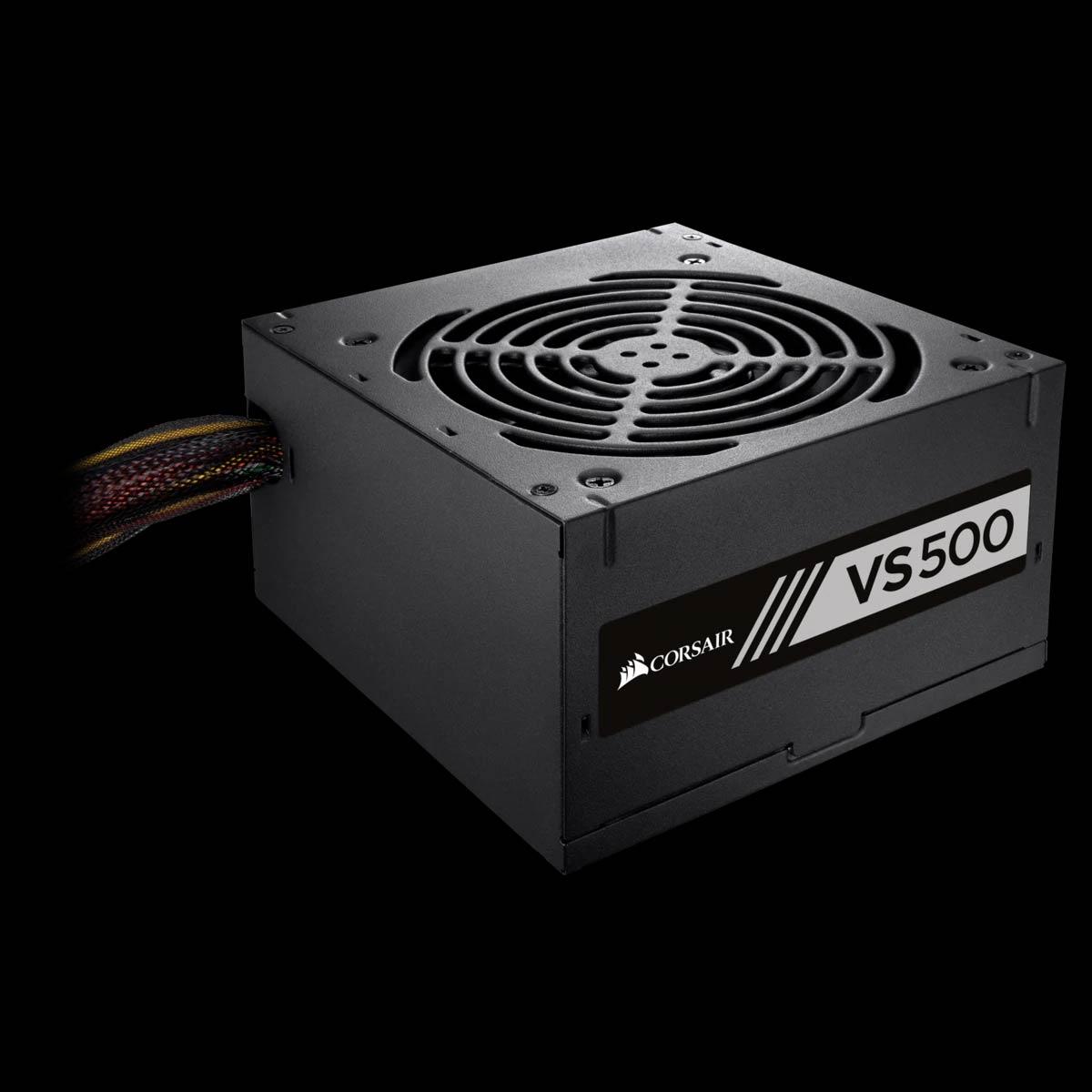 Fonte ATX 500W - VS500 - 80 Plus White Pfc Ativo