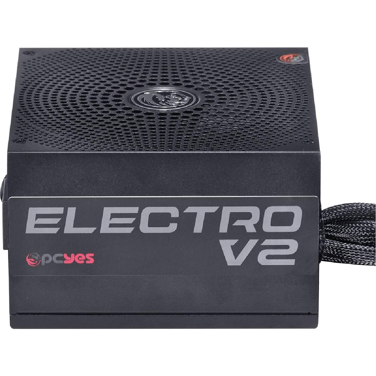 Fonte ATX 550W Pcyes Electro V2 80 Plus Bronze PFC Ativo
