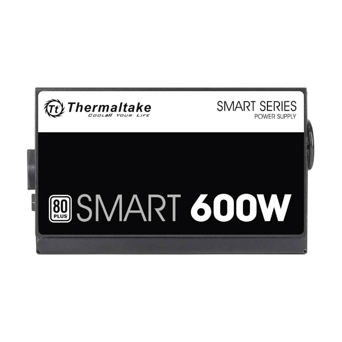 Fonte ATX 600w Thermaltake Smart Gamer 80 Plus White Certificado APFC PSU