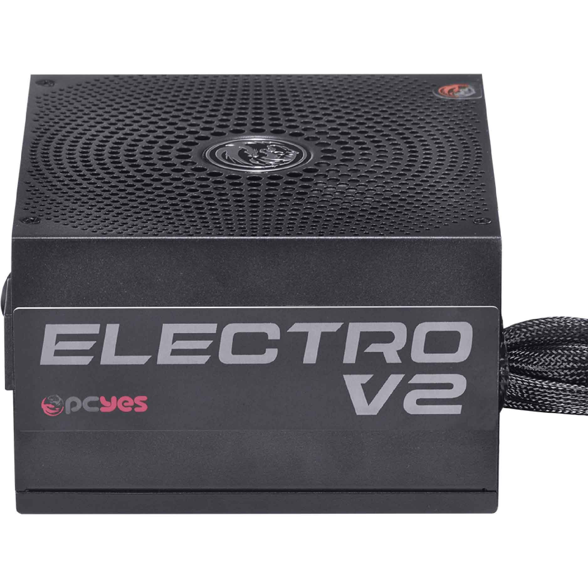 Fonte Pcyes 450w Electro V2 3 Anos de Garantia - 80 plus Bronze