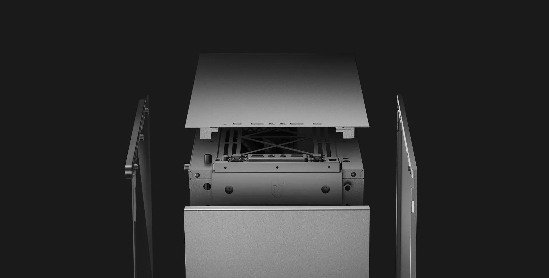 Gabinete Gamer DeepCool Macube 310 Mid Tower GS-ATX-MACUBE310 Preto