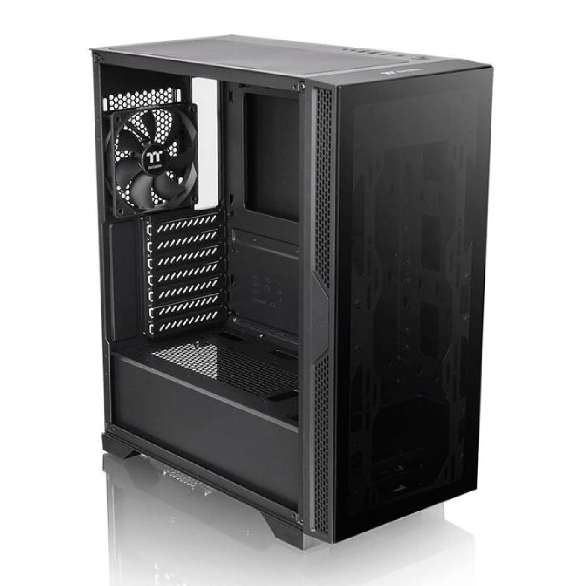 Gabinete Gamer Thermaltake Versa T25 TG Vidro Temperado Com Fan