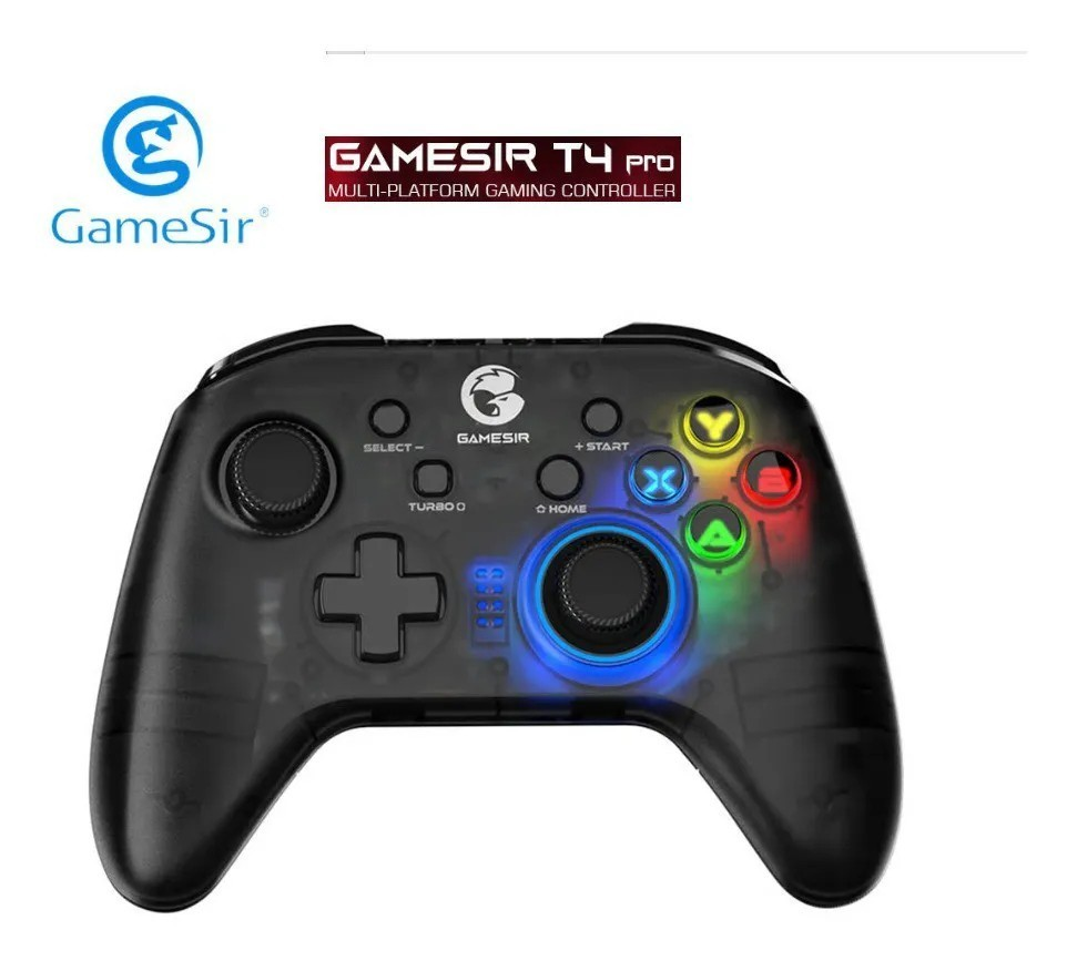 Controle Joystick Sem Fio Wifi Bluetooth GameSir T4 PRO Switch/Android/Ios/Pc