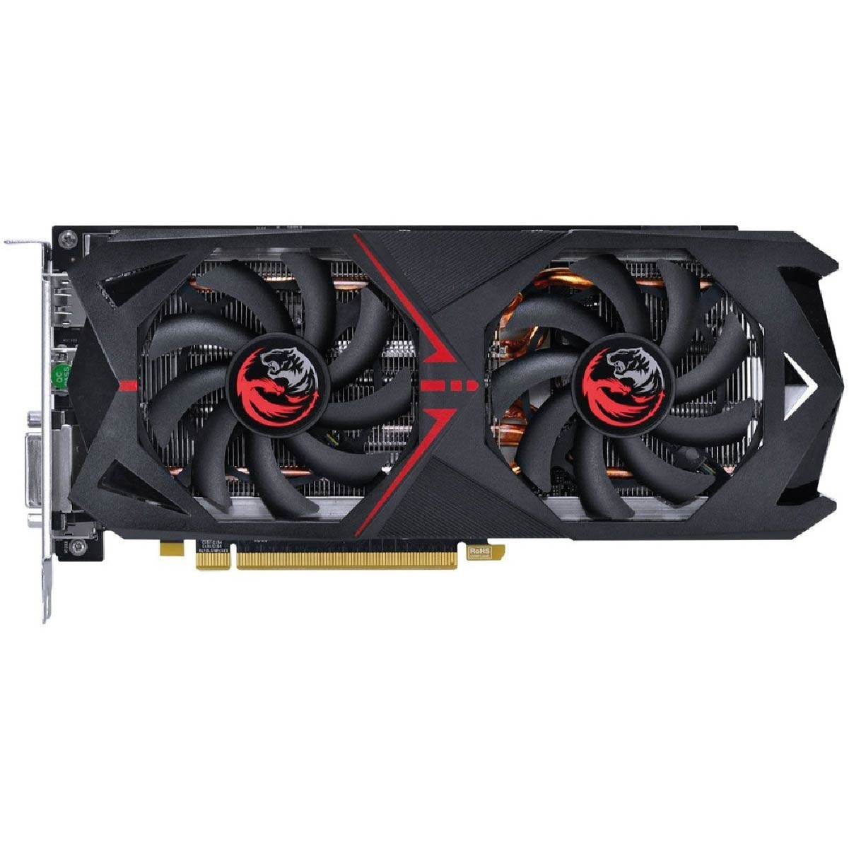 GPU RX 570 4GB GDDR5 256 BITS DUAL FAN - GRAFFITI SERIES - PJRX570G5256