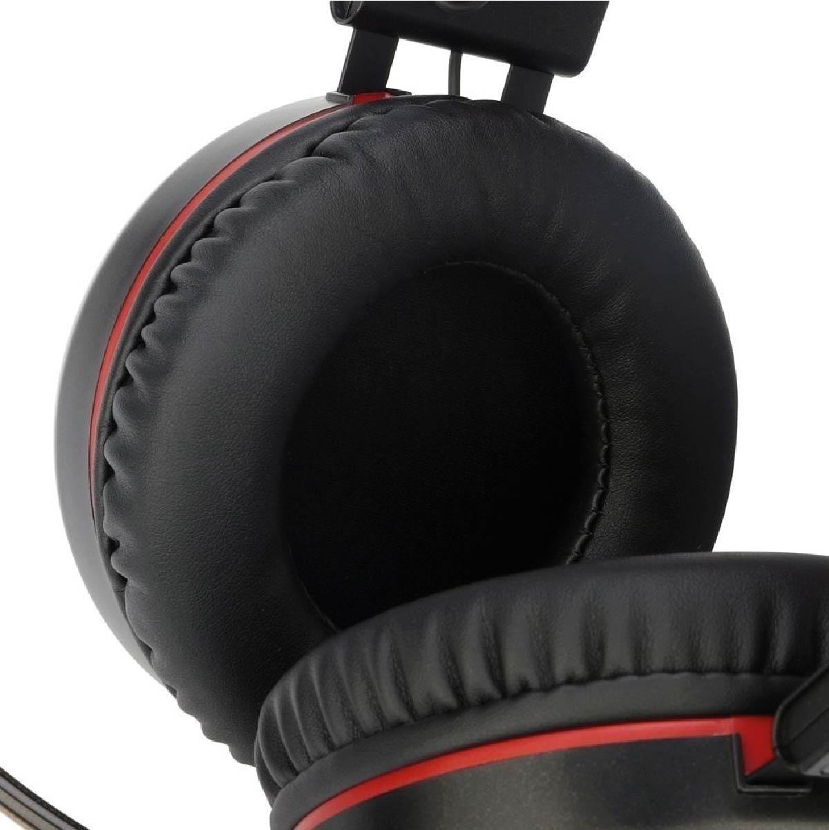 Headset Fone de Ouvido Redragon H210 Minos Surround 7.1 Profissional Gamer