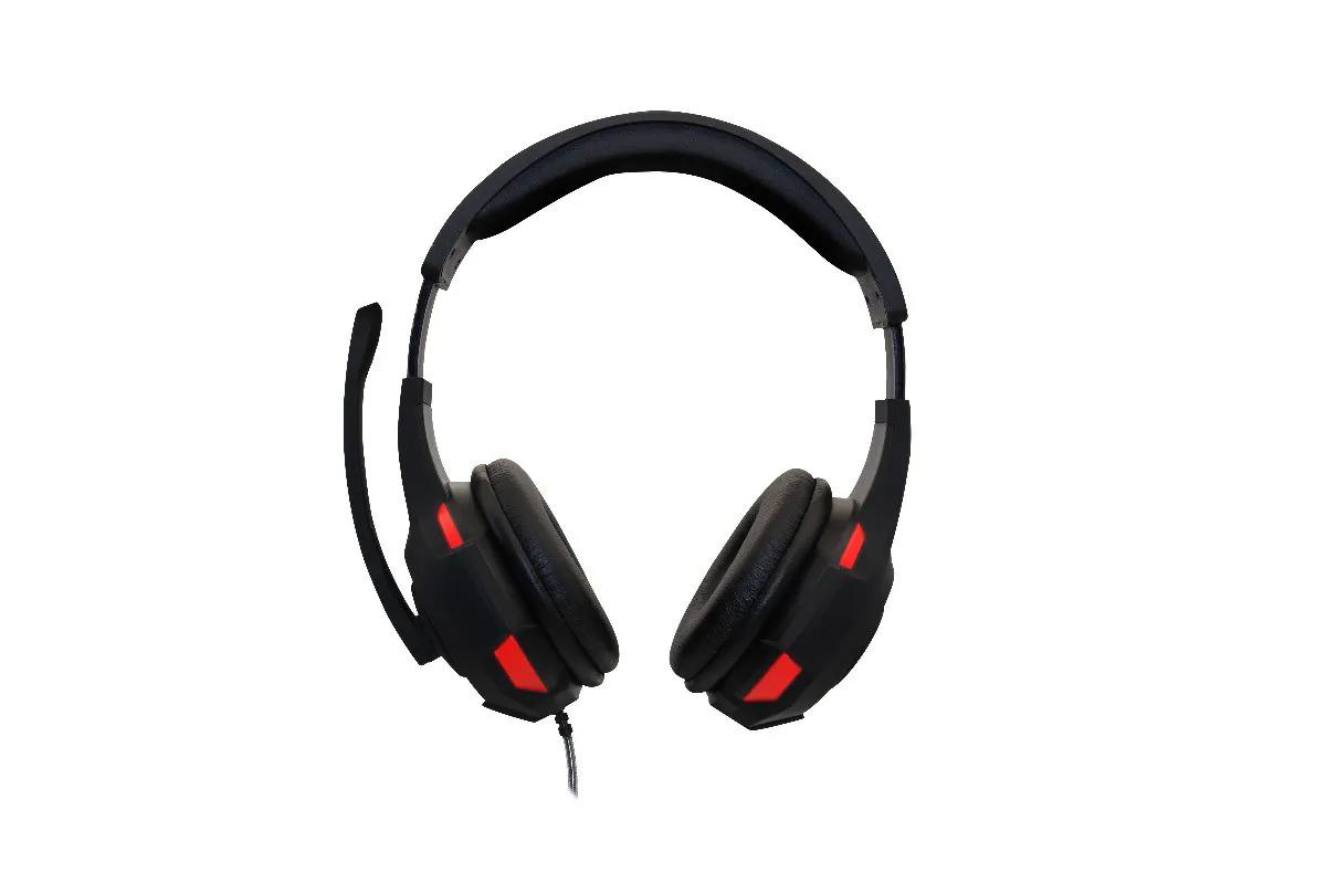 Headset Gamer Havit, Hv-h2213d Preto/vermelho