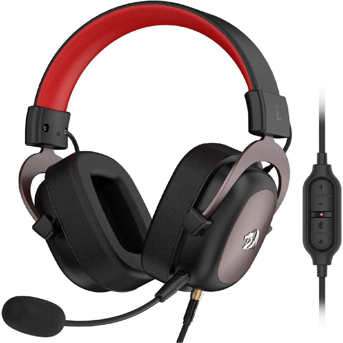 Headset Redragon Zeus 2, USB, Surround 7.1, H510-1W
