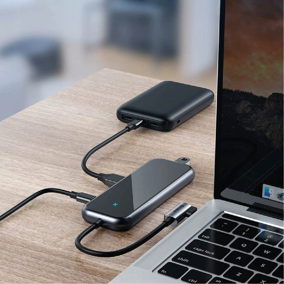 HUB Multifuncional Baseus Type-C para USB3.0