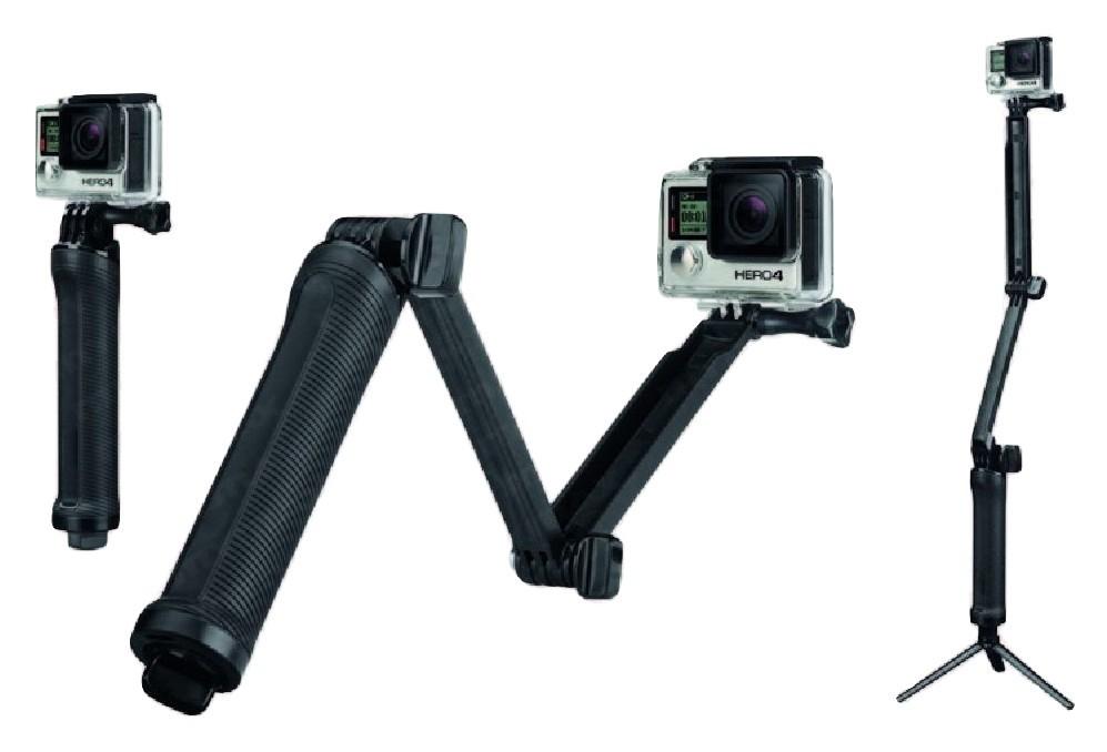 Kit Gopro Hero Com 9 Peças Maleta - Sport Cam Xiaomi Go Pro