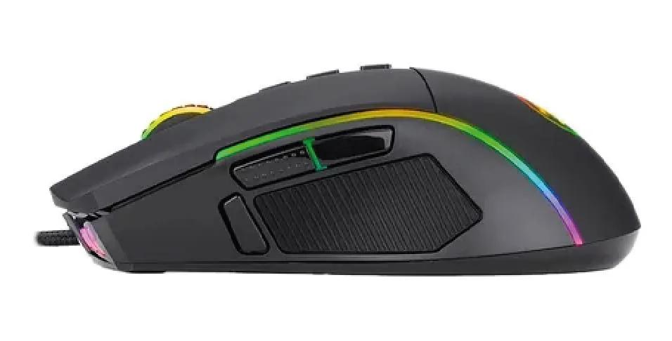 Mouse Gamer Redragon Lonewolf 2 16000 DPI PALM GRIP e CLAW RGB