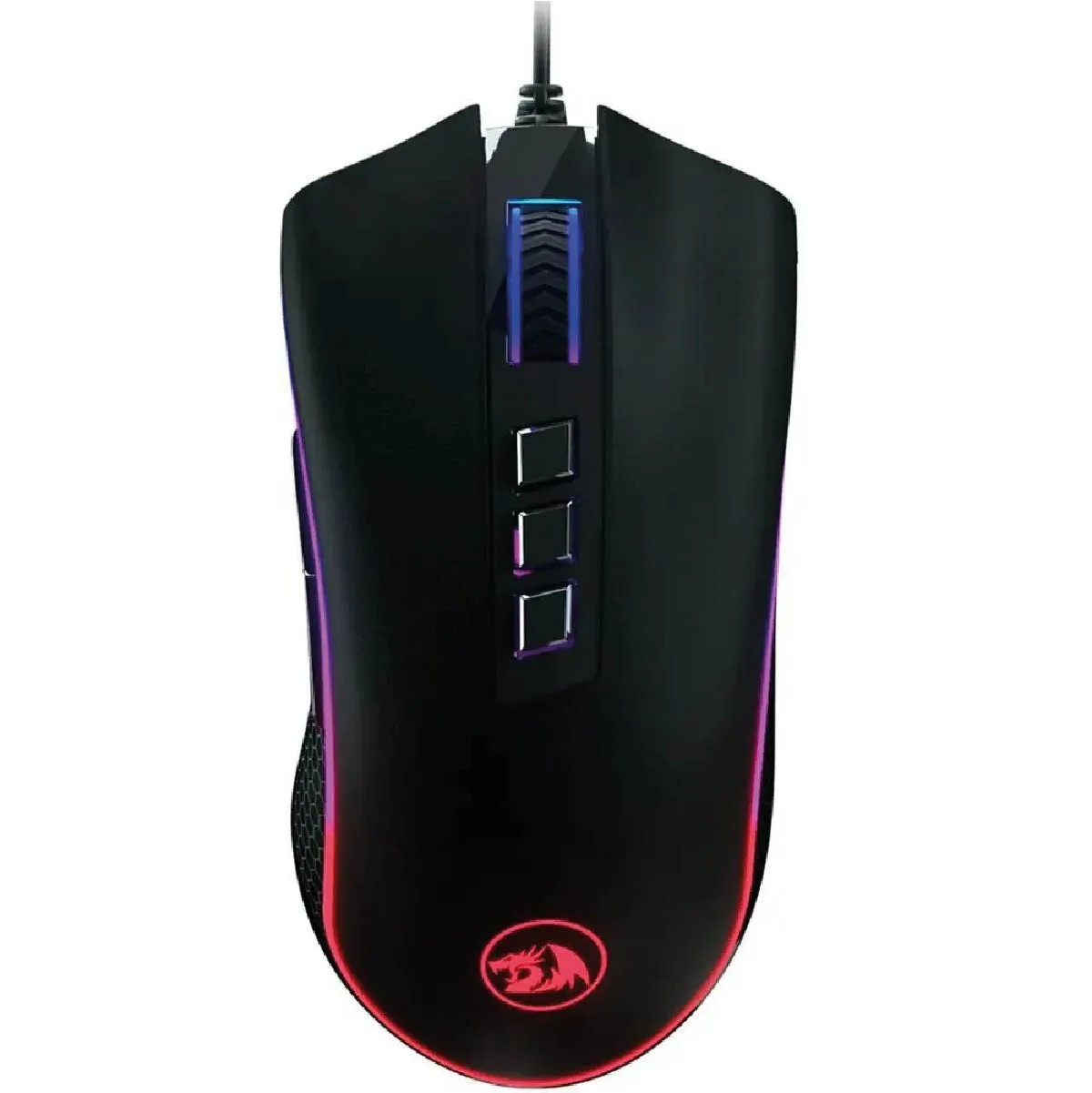 Mouse King Cobra Redragon Gamer M711-fps PIXART PMW3360 RGB