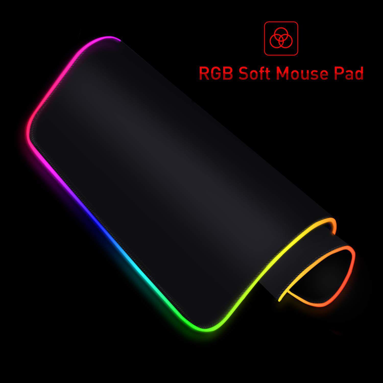 Mousepad Grande Gamer RGB 80x30 cm MP902 Havit