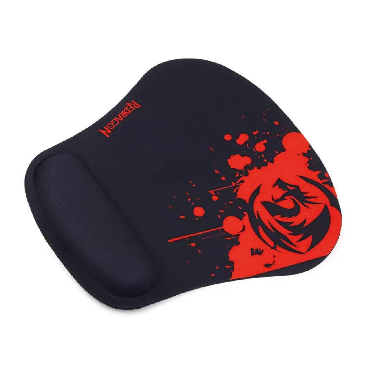 Mousepad Redragon 250x240x3mm Libra P020 Speed Com Apoio de Pulso
