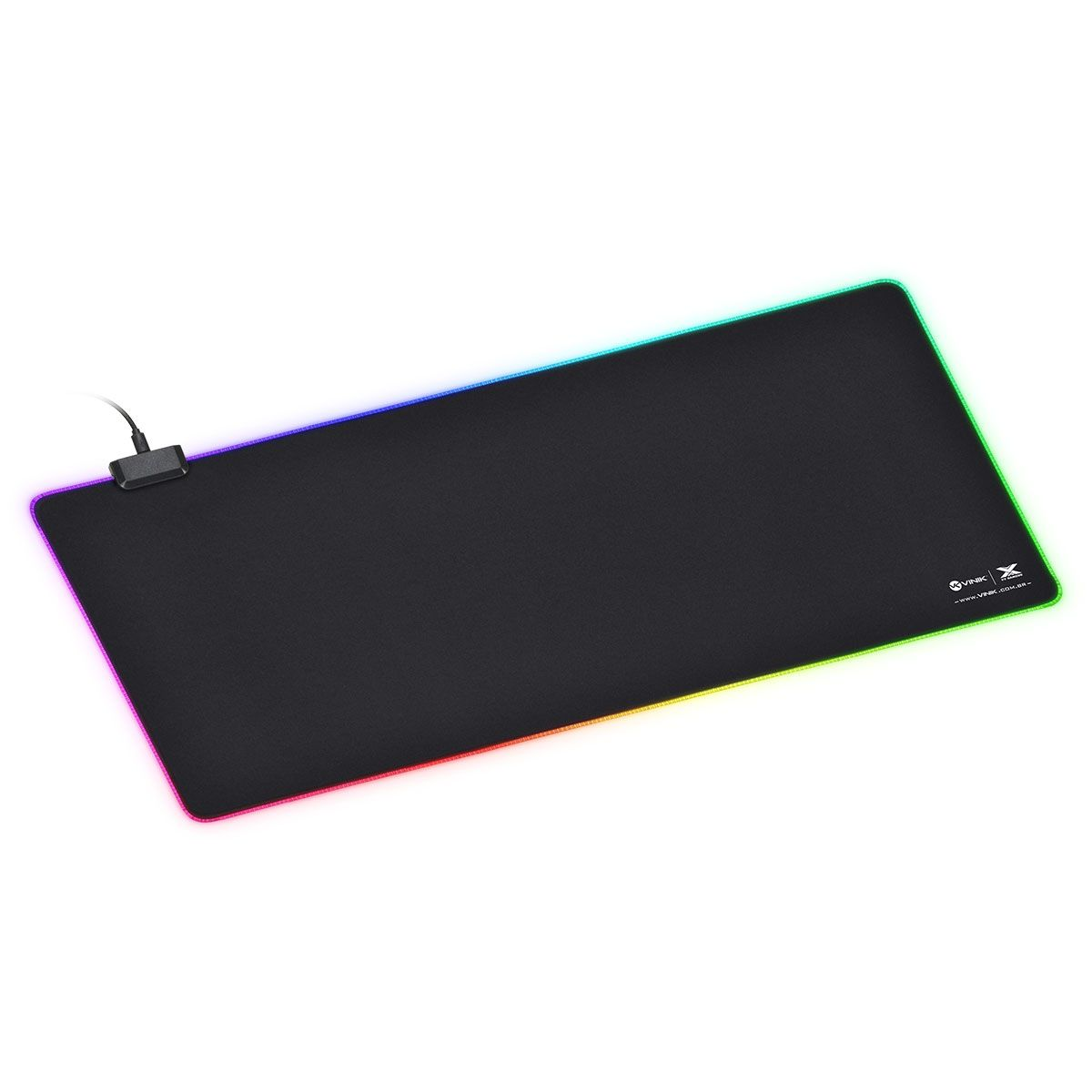 Mousepad RGB Grande 70X30cm Speed jogo FPS Profissional