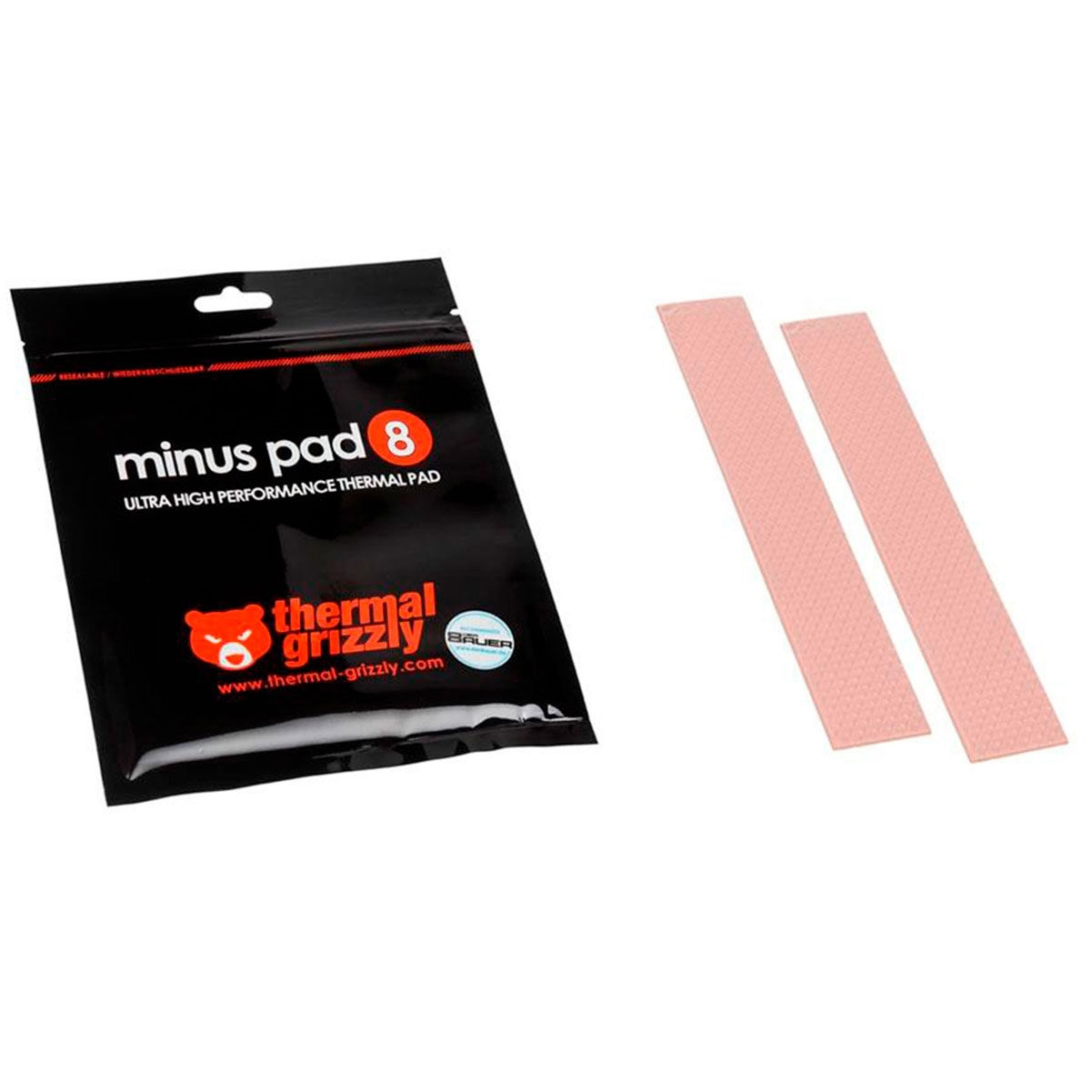 Pad Térmico Thermal Grizzly Minus 8 120x20x0.5mm Overclock 8.0 Wmk