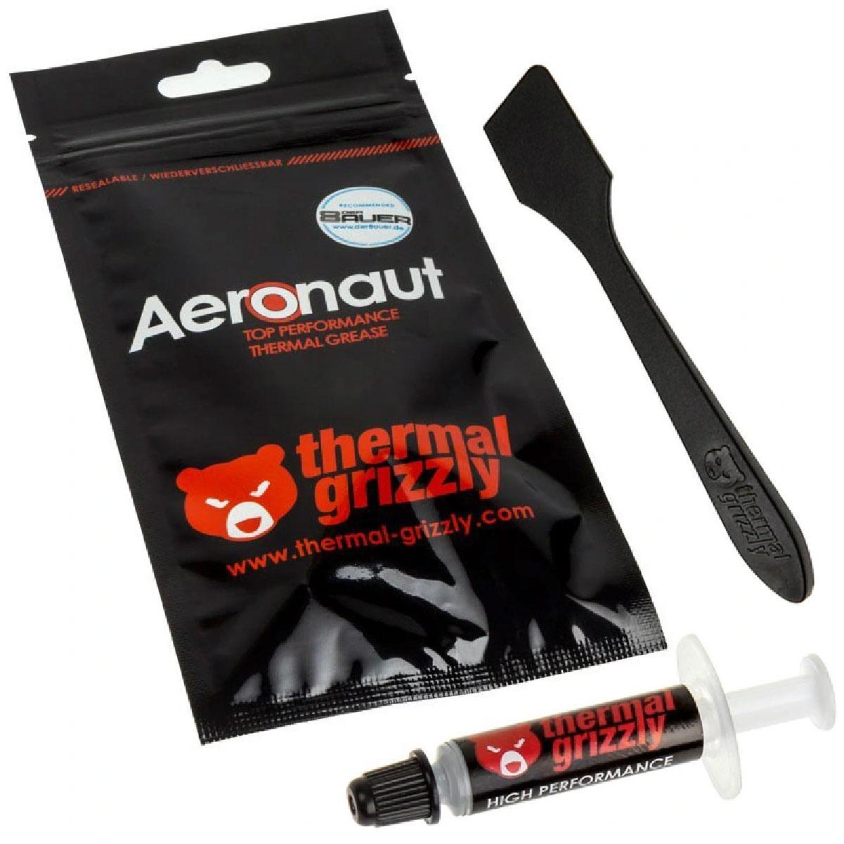 Pasta Térmica Aeronaut 1g Thermal Grizzly 8,5 Wmk com Espatula Overclock