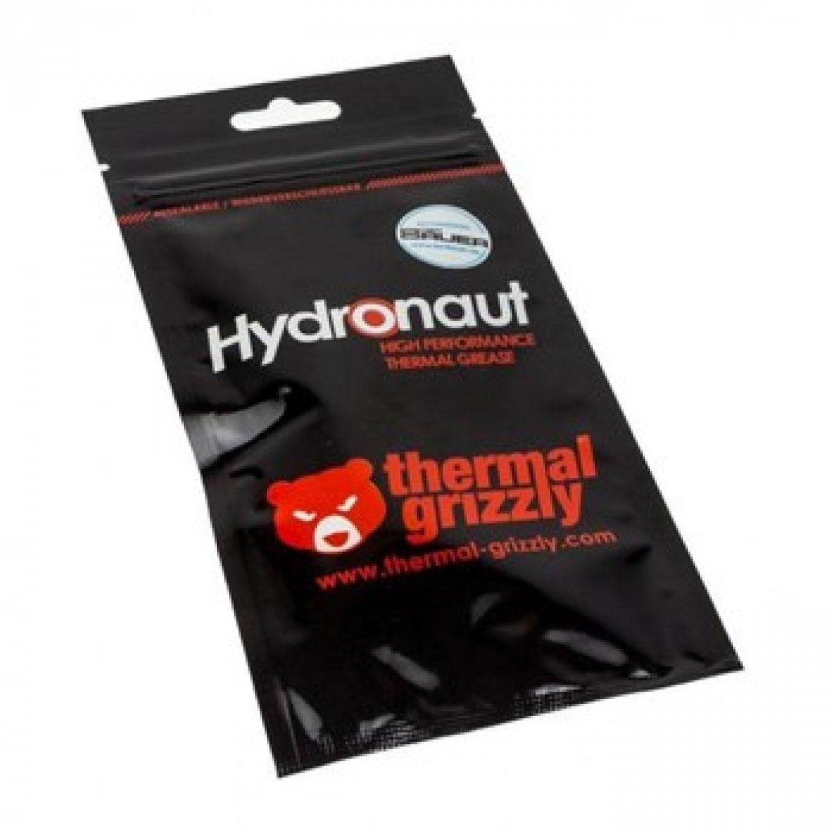 Pasta Térmica Hydronaut 1G Thermal Grizzly 11.8Wmk com Espátula Overclock