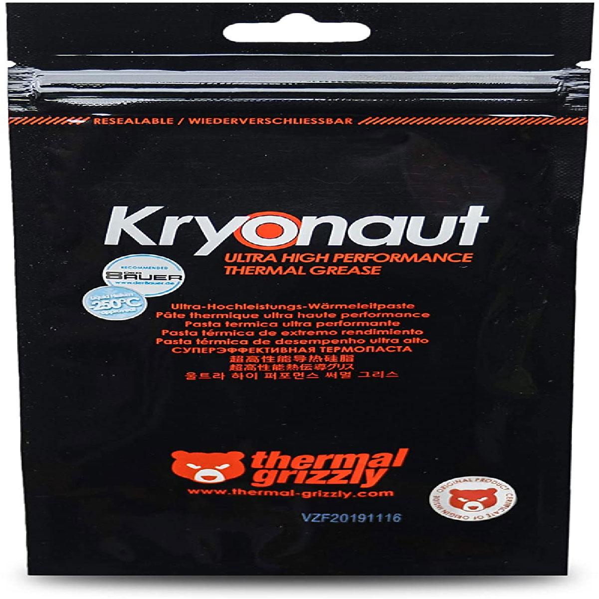 Pasta Térmica Kryonaut 12,5 W/mk Com Espatula Para Overclock