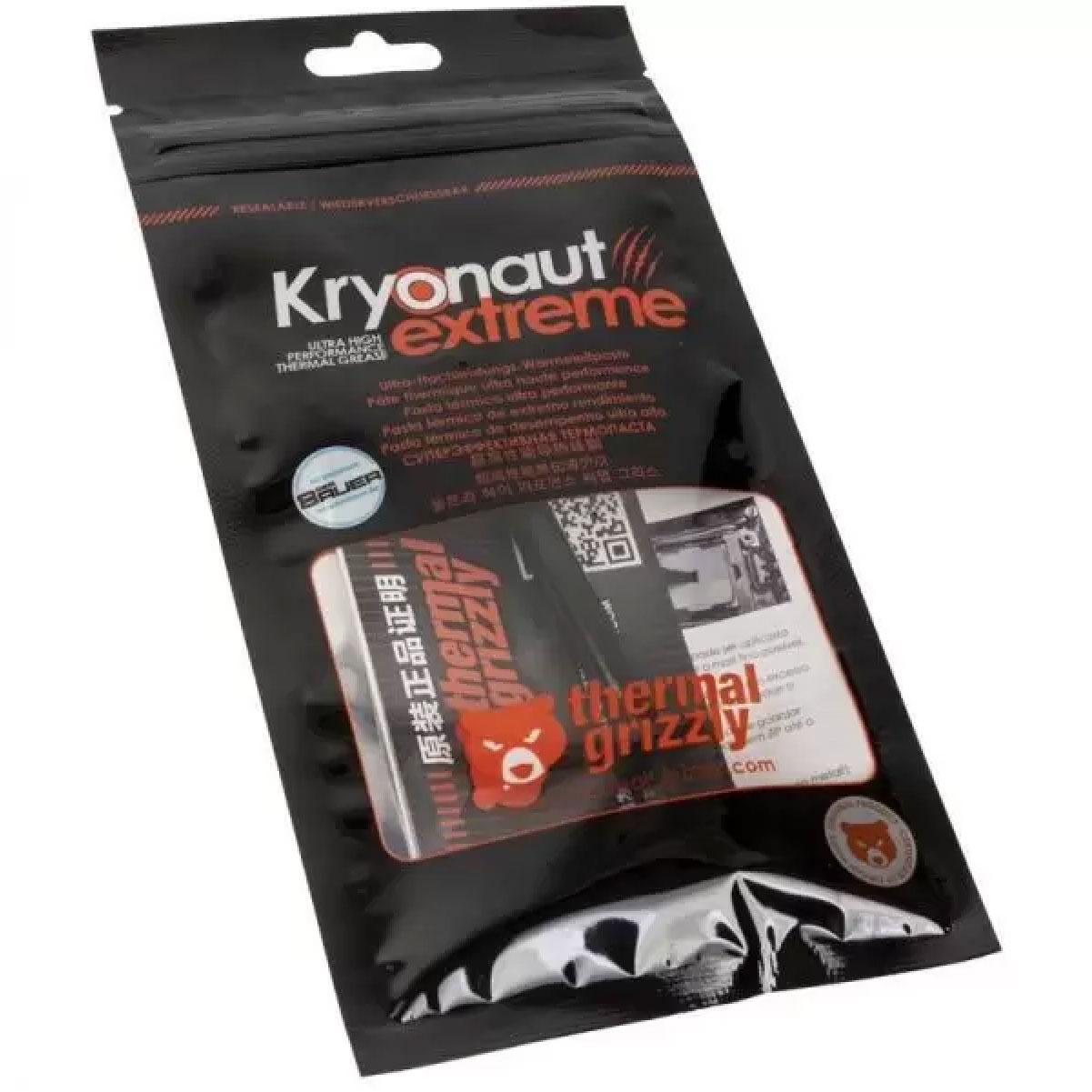 Pasta Térmica Kryonaut Extreme 2g 14,2W/mk Para Overclock com Ponteira de Aplicação