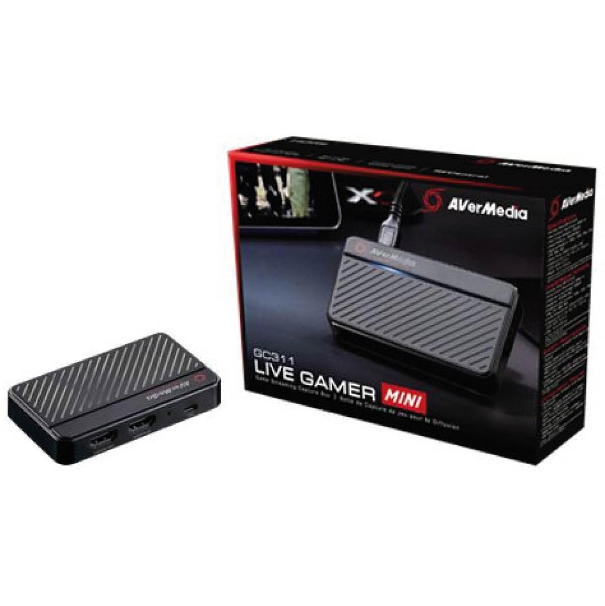 Placa De Captura Avermedia Gc311 Live Gamer Mini Lgm 60fps 1080p