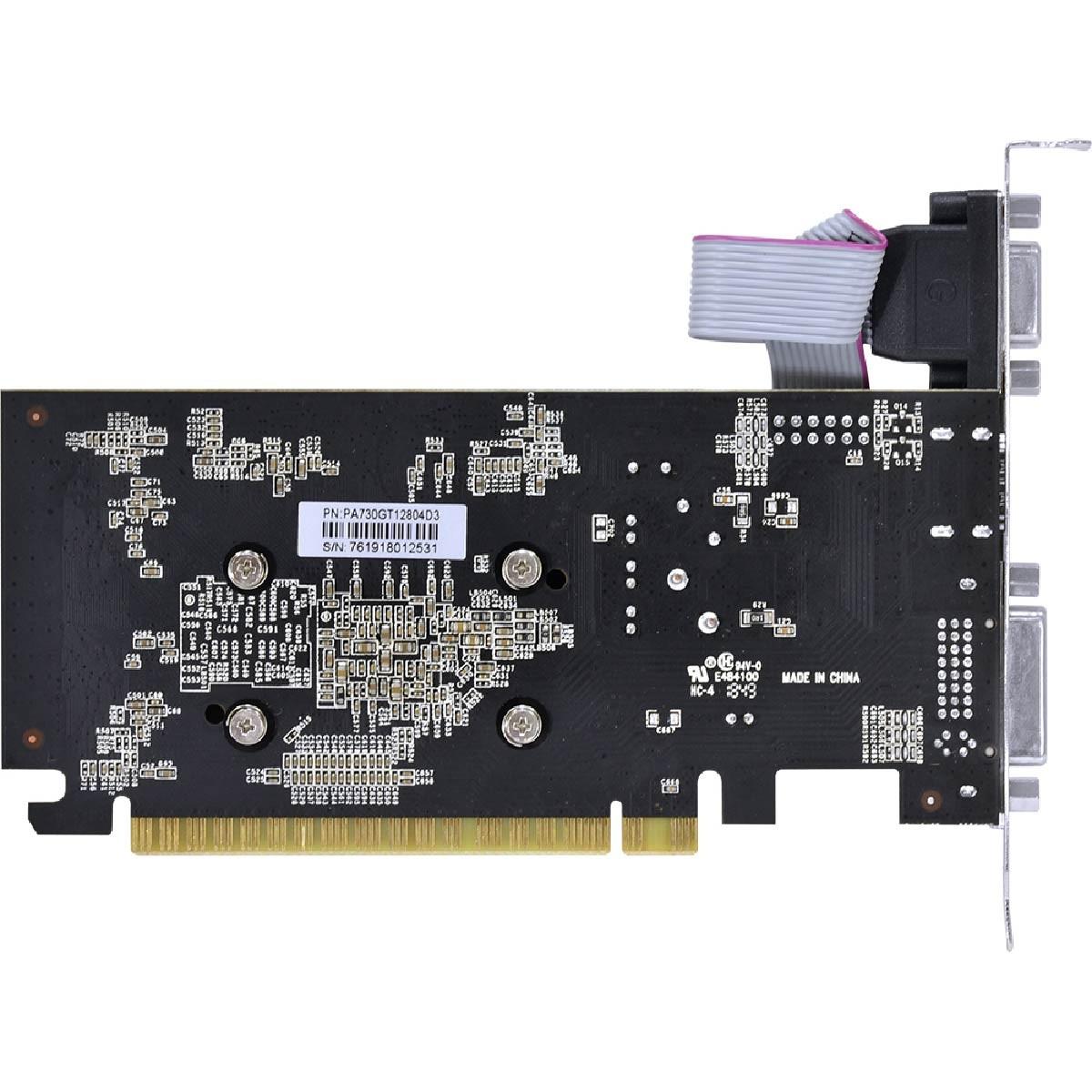 Placa de Video GT 730 GDDR5 2GB 64BIT PA730GT6402D5LP PcYes Pci-e 2.0