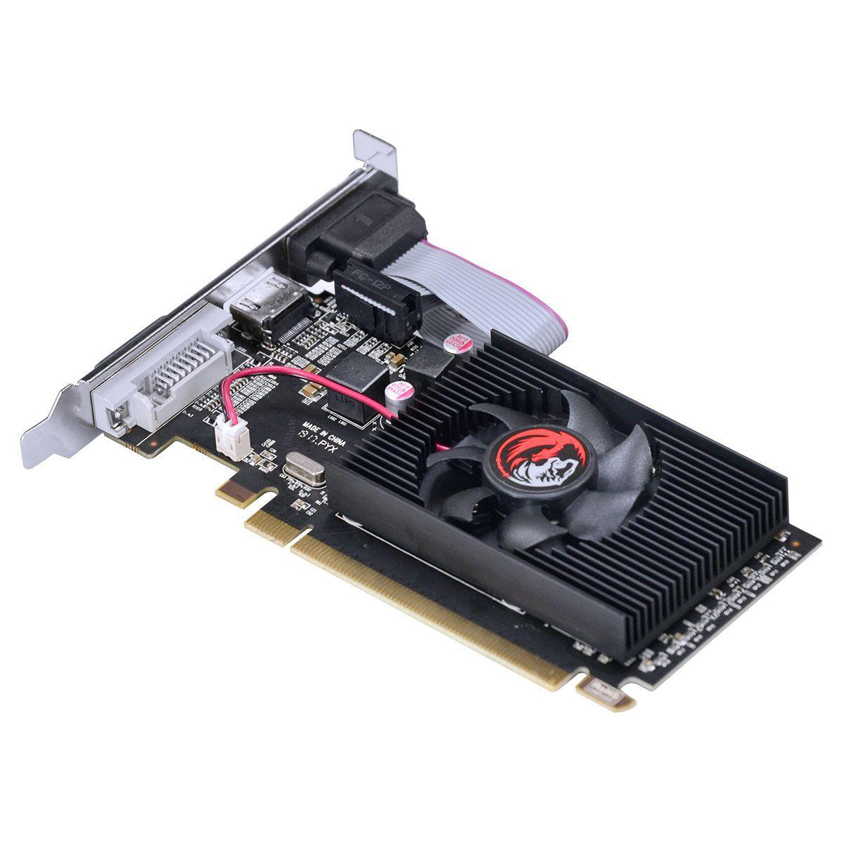Placa De Video Pcyes Radeon R5 230 2gb Ddr3 Low Profile