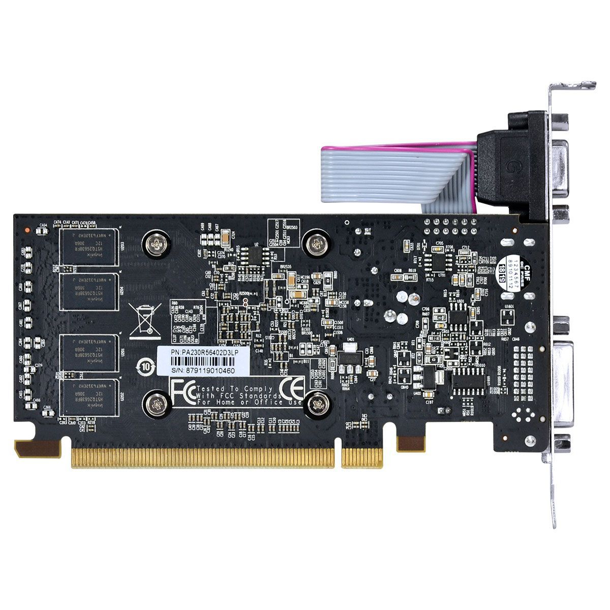 Placa De Video Pcyes Radeon R5 230 2gb Ddr3 Low Profile