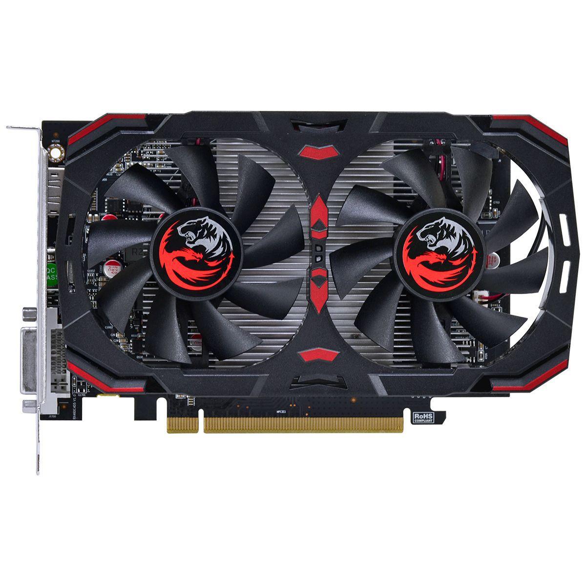 Placa de Vídeo RX 460 4GB GDDR5 AMD Radeon Pcyes