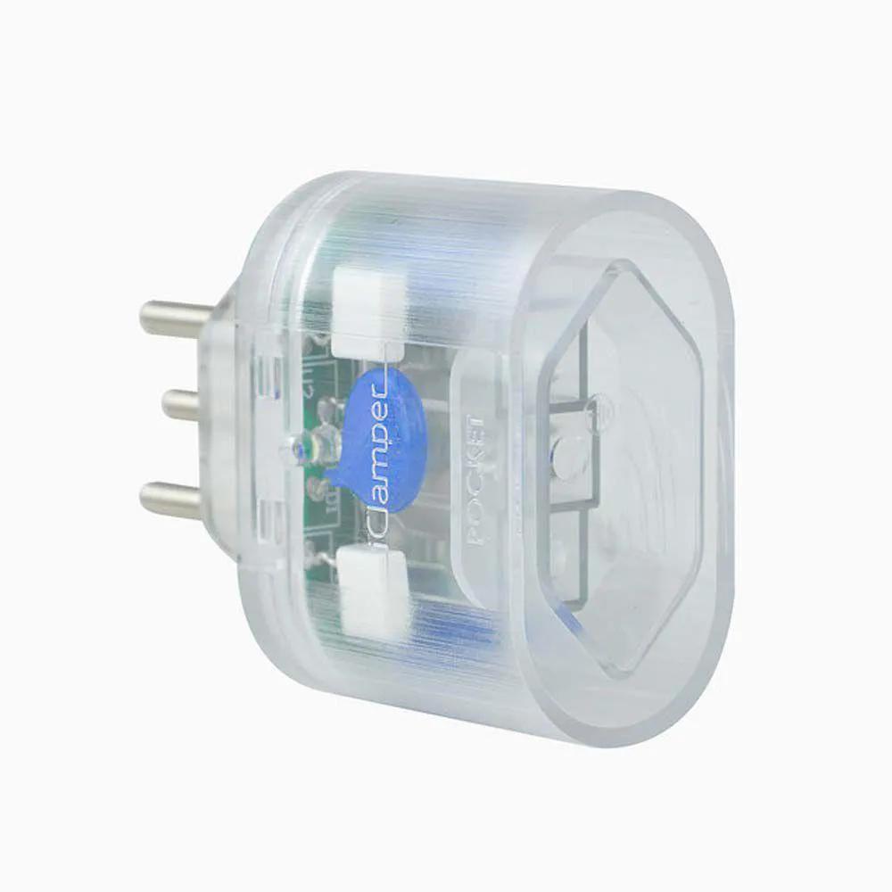 Proteção contra Surto e Raios Clamper Pocket Dps 3 Pinos 10a