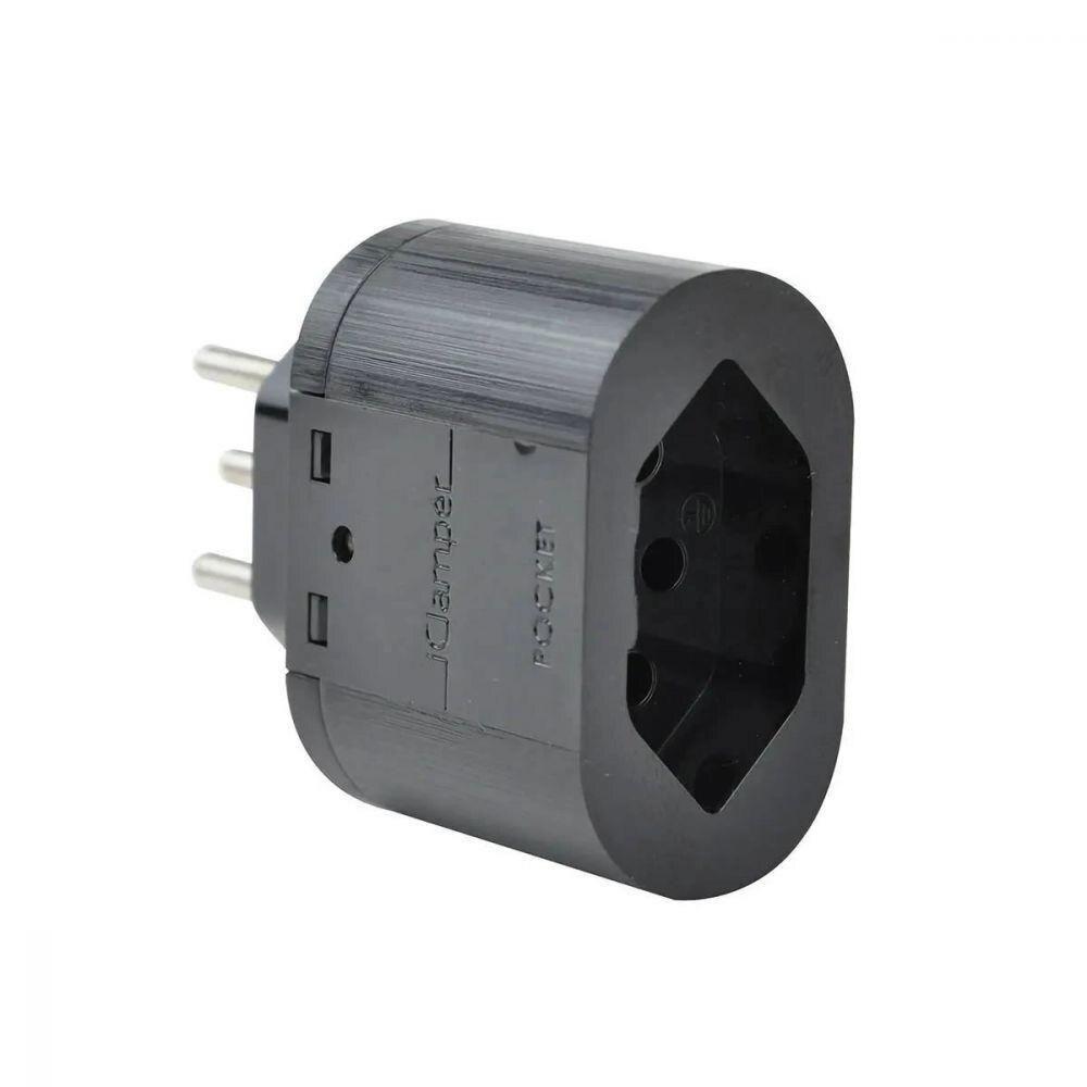 Proteção contra Surto e Raios Clamper Pocket Dps 3 Pinos 10a Preto
