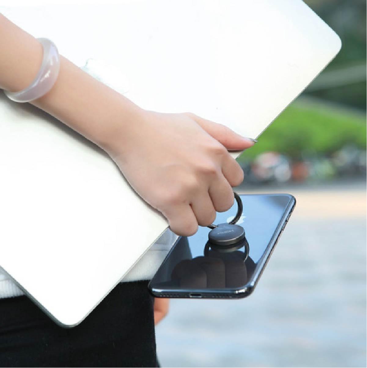 Suporte Anel Dedo Magnético Imã Para Celular E Tablet Rock