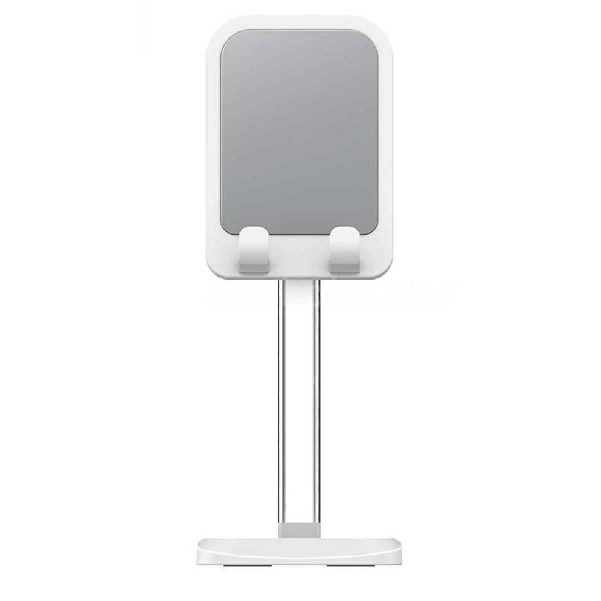 Suporte Mesa Ajustável para Celular Universal Liftable Rock Branco