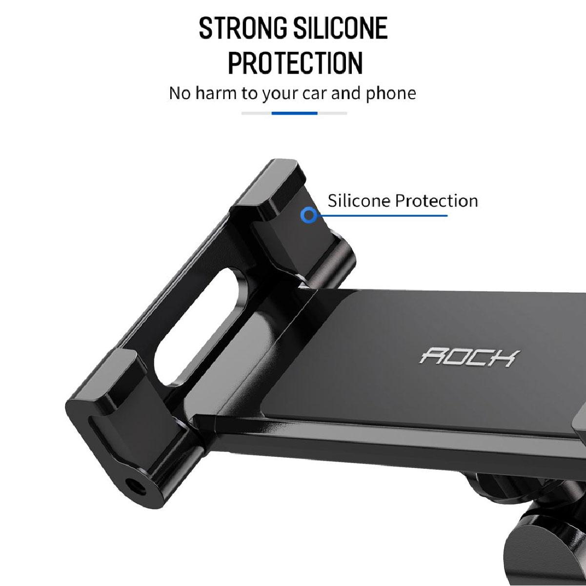 Suporte Veicular Para Encosto de Cabeça Tablet e Smartphone Rock 360 Graus 10.5 Polegadas