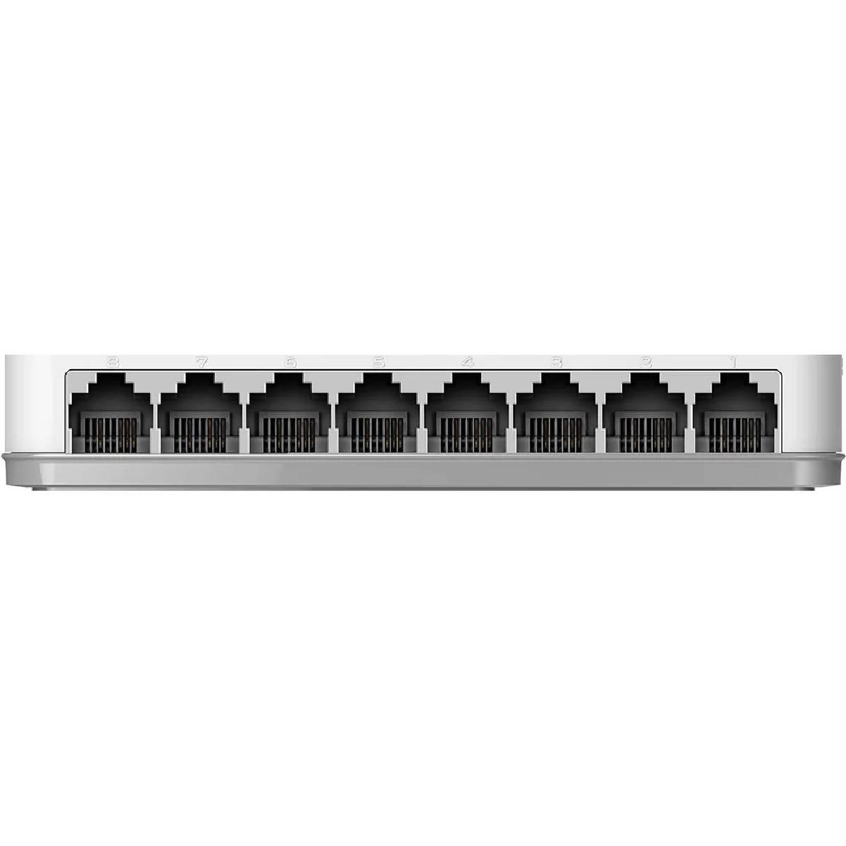 Switch D-link 8 portas 10/100 não Gerenciavel - DES-1008C