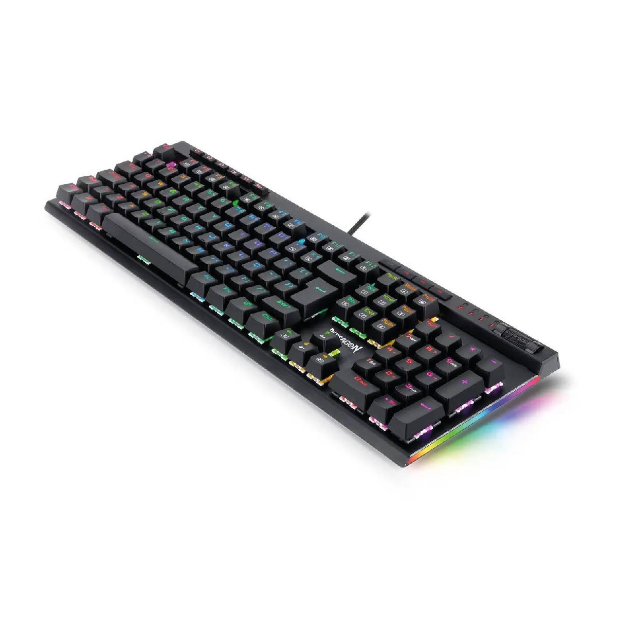 Teclado Gamer Vata Pró K580 Rgb Switch Óptico Redragon