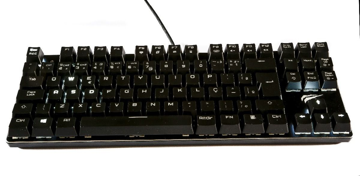 Teclado Havit Mecanico HV-KB435L Outemu Brown