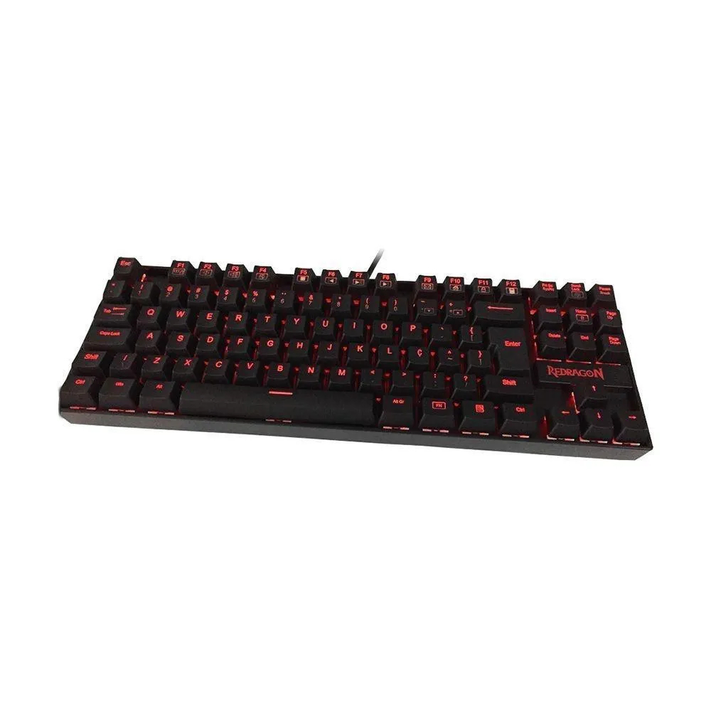 Teclado Mecânico Gamer Kumara K552 Red switch Outemu Azul