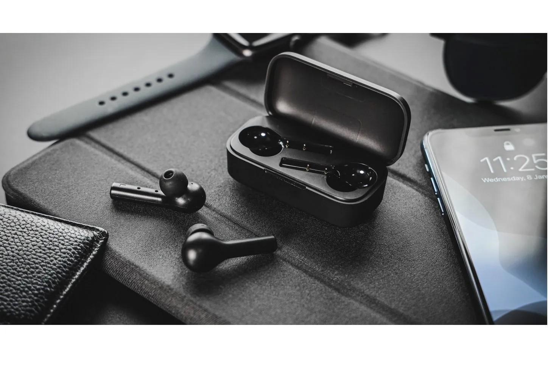TWS Fone de Ouvido QCY T5 Bluetooth 5.0 Preto