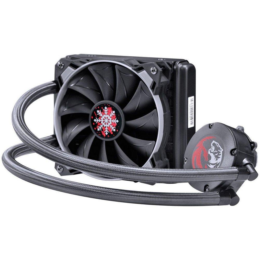 Water Cooler 120mm Sangue Frio 2 Pcyes Intel/Amd preto TDP 200W -
