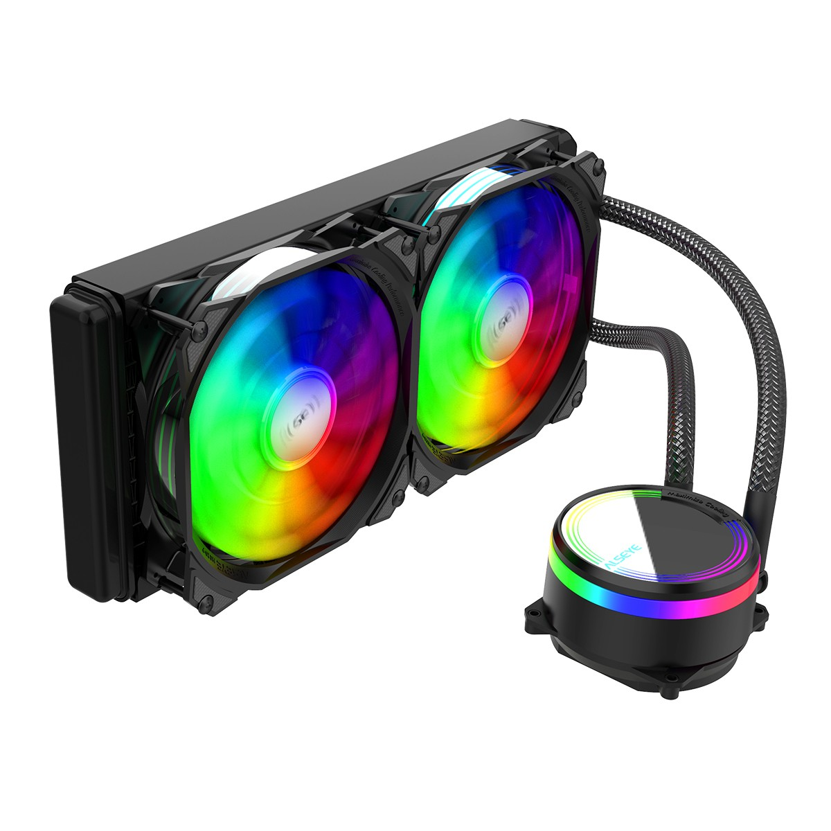 WATER COOLER ALSEYE RGB PRETO M240