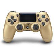 Joystick Sony Dualshock 4 Dourado