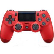 Joystick Sony Dualshock 4 Vermelho