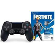 Joystick Sony Ps4 Preto - Versão Fortnite