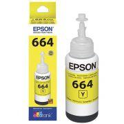 Refil de Tinta Epson 664 Yellow