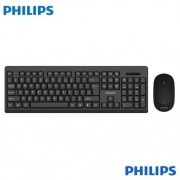 Teclado e Mouse Philips Wireless Convenience C324