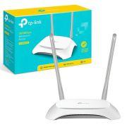 TP-LINK-TL-WR840N 4 portas LAN 10 / 100 Mbps 1 porta WAN 10 / 100 Mbps