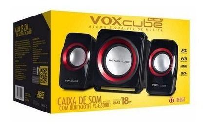 Caixa De Som Com Bluetooth Vc-g500bt
