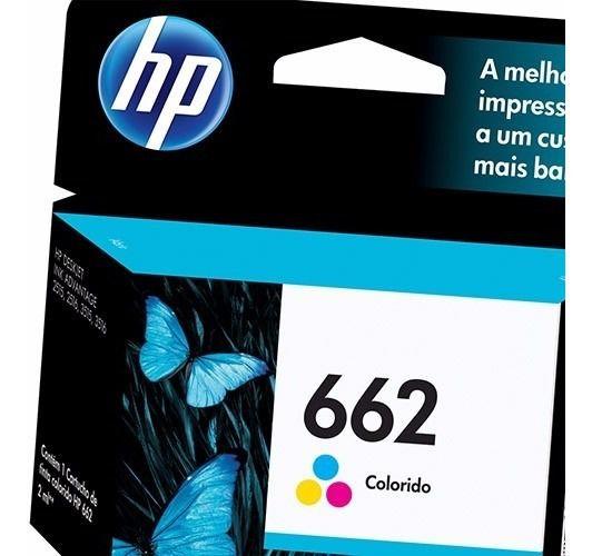 Cartucho Colorido HP 662