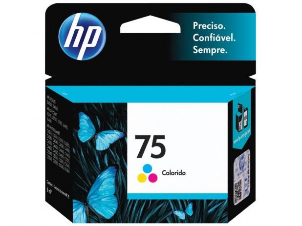 Cartucho Colorido HP 75