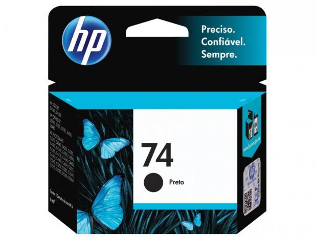 Cartucho Preto HP 74